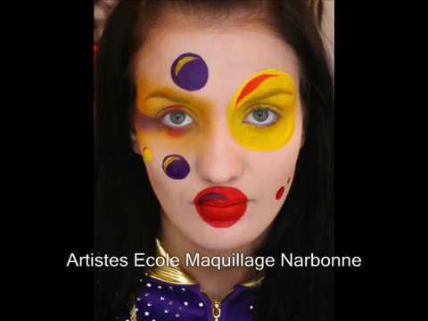 maquillage carnaval youtube. Black Bedroom Furniture Sets. Home Design Ideas
