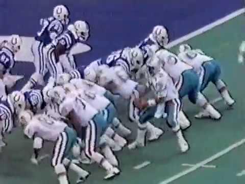 1992 Wk 10 Miami at Indianapolis Highlights