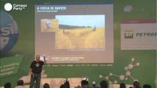 CAMPUS PARTY 2013: AGROGLIFOS: MENSAGENS EXTRATERRESTRES?