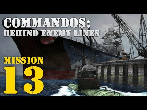 Commandos: Behind Enemy Lines -- Mission 13: David and Goliath