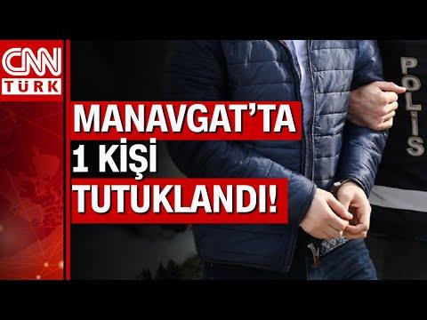 Antalya Manavgat'taki orman yangınları ile ilgili 16 yaşındaki şüpheli tutuklandı!
