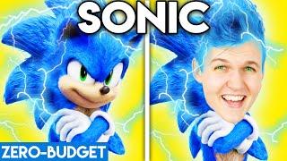 SONIC WITH ZERO BUDGET! (Sonic the Hedgehog FUNNY MOVIE PARODY)