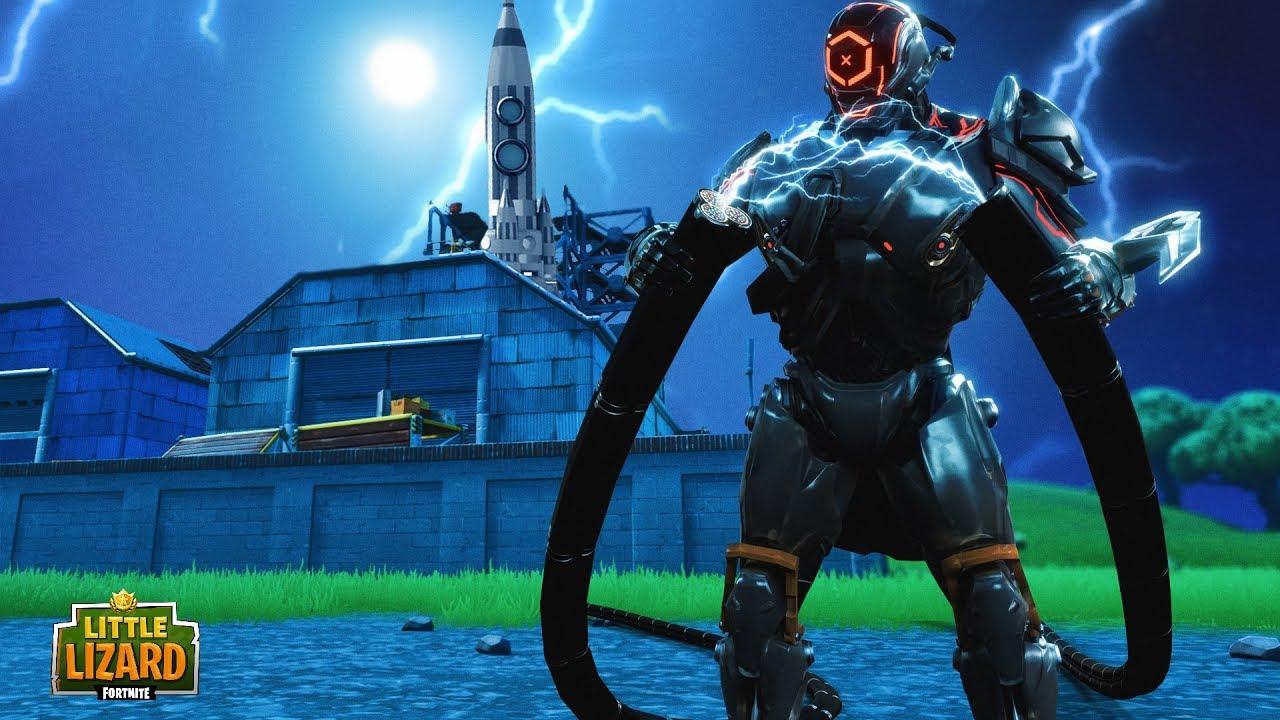The Scientist Is Building A Rocket Fortnite Season X