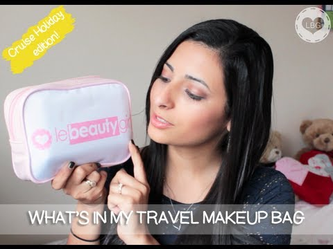 What\u0026#39;s In My Travel Makeup Bag: Cruise Holiday! | Le Beauty Girl ...