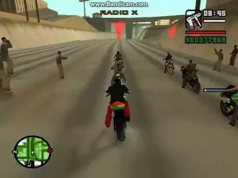 Gta San Andreas | Carreras de Motos | Las Mejores Carreras de Motos |