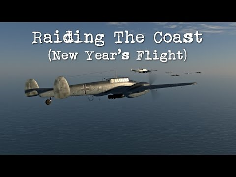 IL-2 Cliffs of Dover - New Year's Flight 2017 (Part 1)
