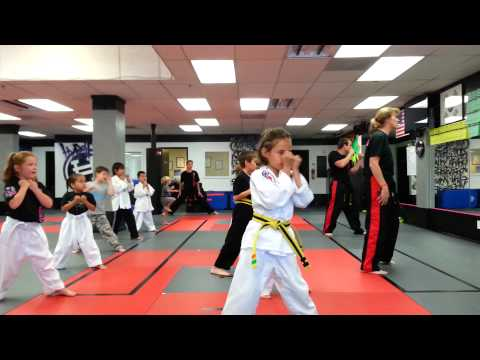 My First Class - ATA Taekwondo - Cal Coast Martial Arts - Part 2