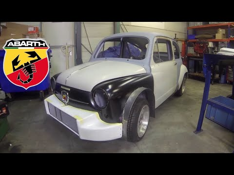 Fiat 600 restoration to Abarth 1000TCR part 3 – Repair and Build