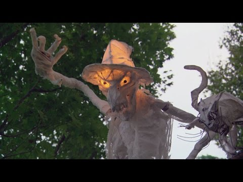 Diy outdoor halloween decorations or turn your front yard