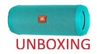 JBL Flip 4 Waterproof Portable Bluetooth Speaker (Unboxing)
