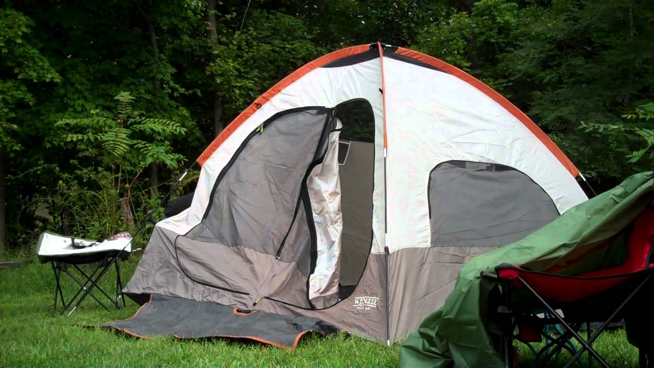 & Quality American Madewenzel camping tents - YouTube