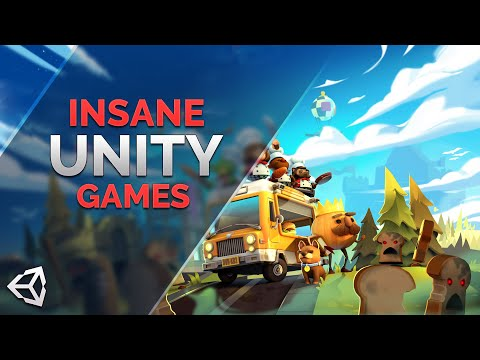 The Most Insane Games Made in Unity - YouTube