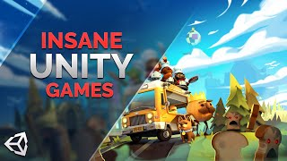 The Most Insane Games Made in Unity