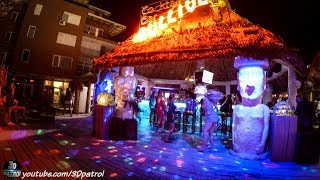 (4k/60) One night in Sunny Beach, Bulgaria