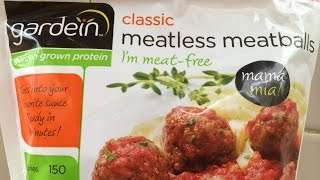 Vegan Meatballs Review