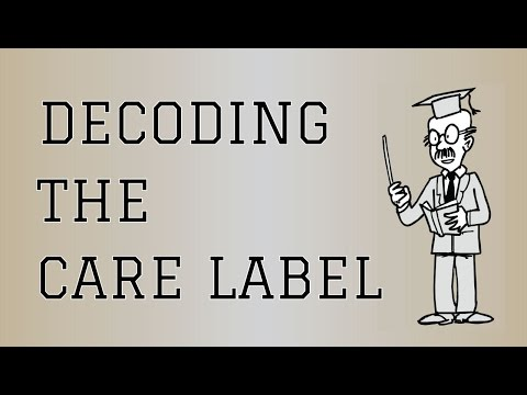 Decoding The Care Label | How To Read The Clothing Care Symbols