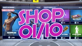 SHOP FORTNITE 1 OCTOBER: SKIN MAXIMILIAN AND AIRHEART, CANAGLIA, FURFANTE, BALLO MOVIMENTI ELEGANTI
