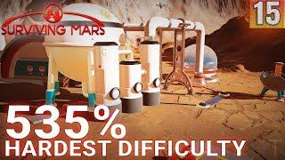 Surviving Mars 535% HARDEST DIFFICULTY - Part 15 - FINAL ATTEMPT - Gameplay