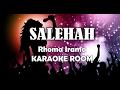 Istri Solehah Karaoke Rhoma Irama Lirik Lagu Karaoke Dangdut Tanpa Vocal