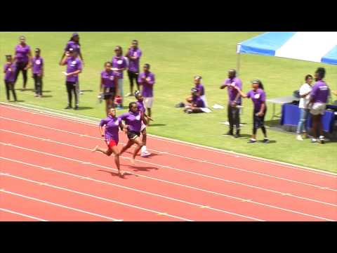 Port Of Spain Police Youth Club Sports 2017 - Heats  01