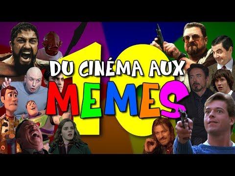 """TOP TEN - Du cinéma aux """"memes"""""""
