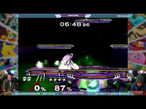 Break Smash #30   SSBM LF   C!Z VS CTRL...