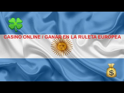CASINO ONLINE 🥟 GANAR en la RULETA EUROPEA en ARGENTINA✔