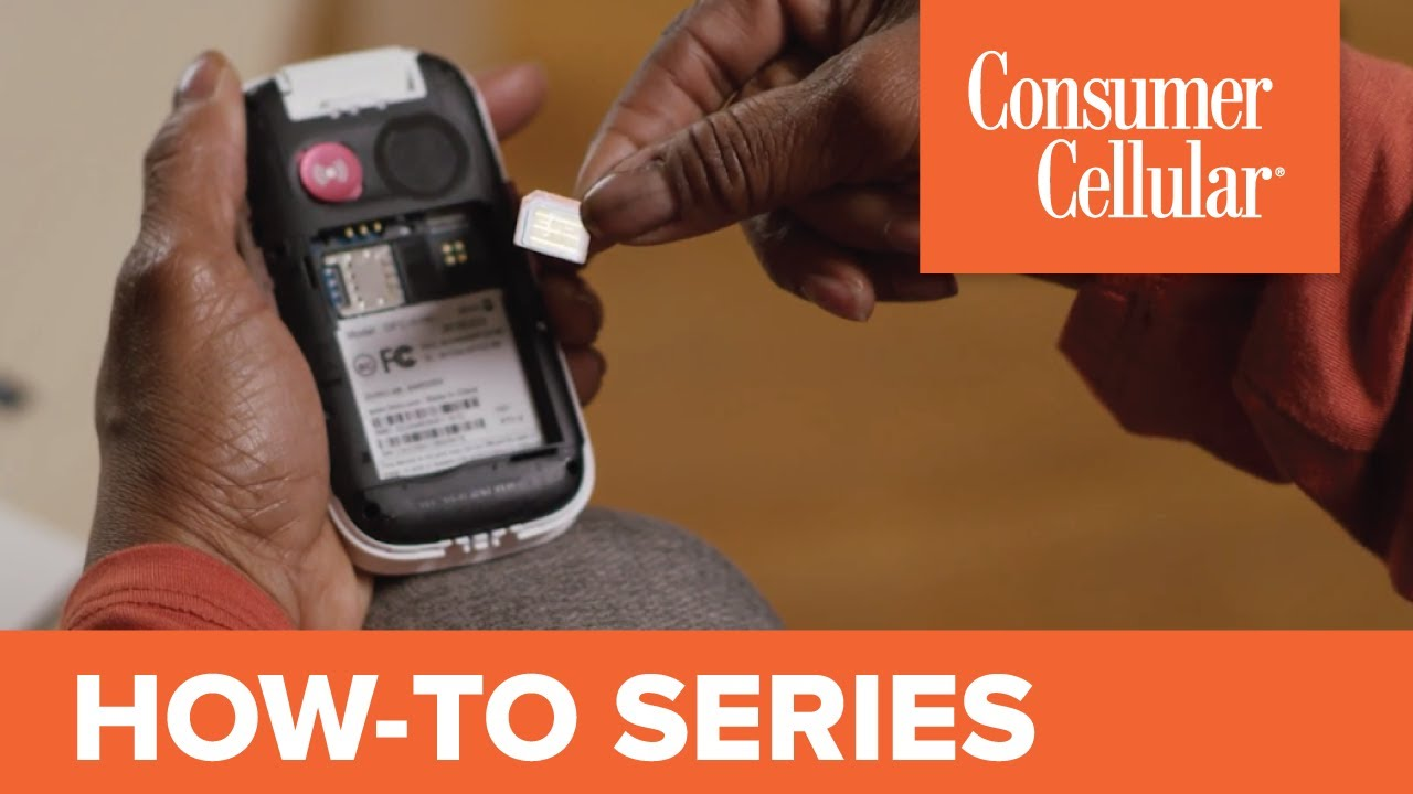 Doro 7050: Removing & Inserting the SIM Card, Battery & SD Card (7 of 7) |  Consumer Cellular