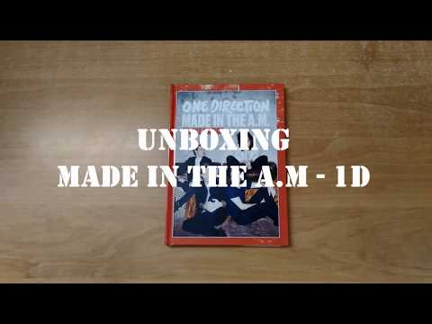 |Unboxing CD| Made In The A.M ( Deluxe edition ) -  One Direction Mp3