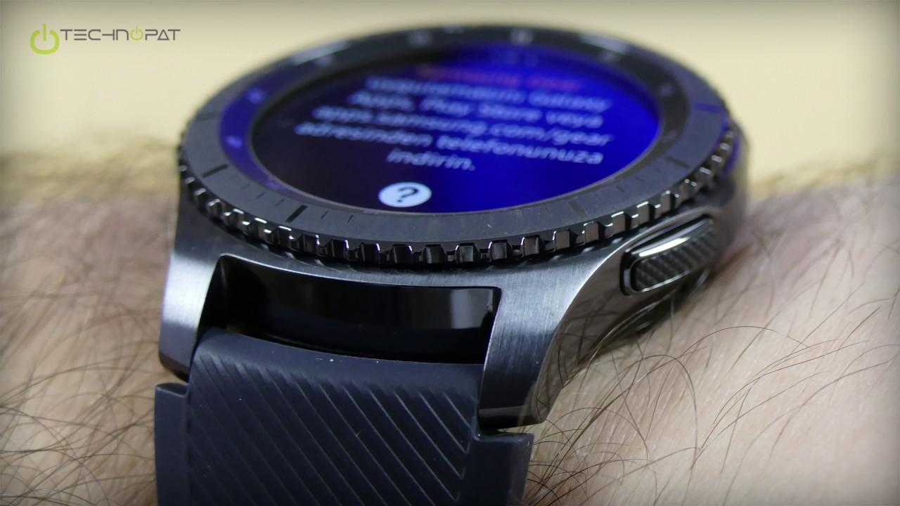 1c41d84a16dc1 Samsung Gear S3 Frontier Fiyatı ve Özellikleri - YouTube