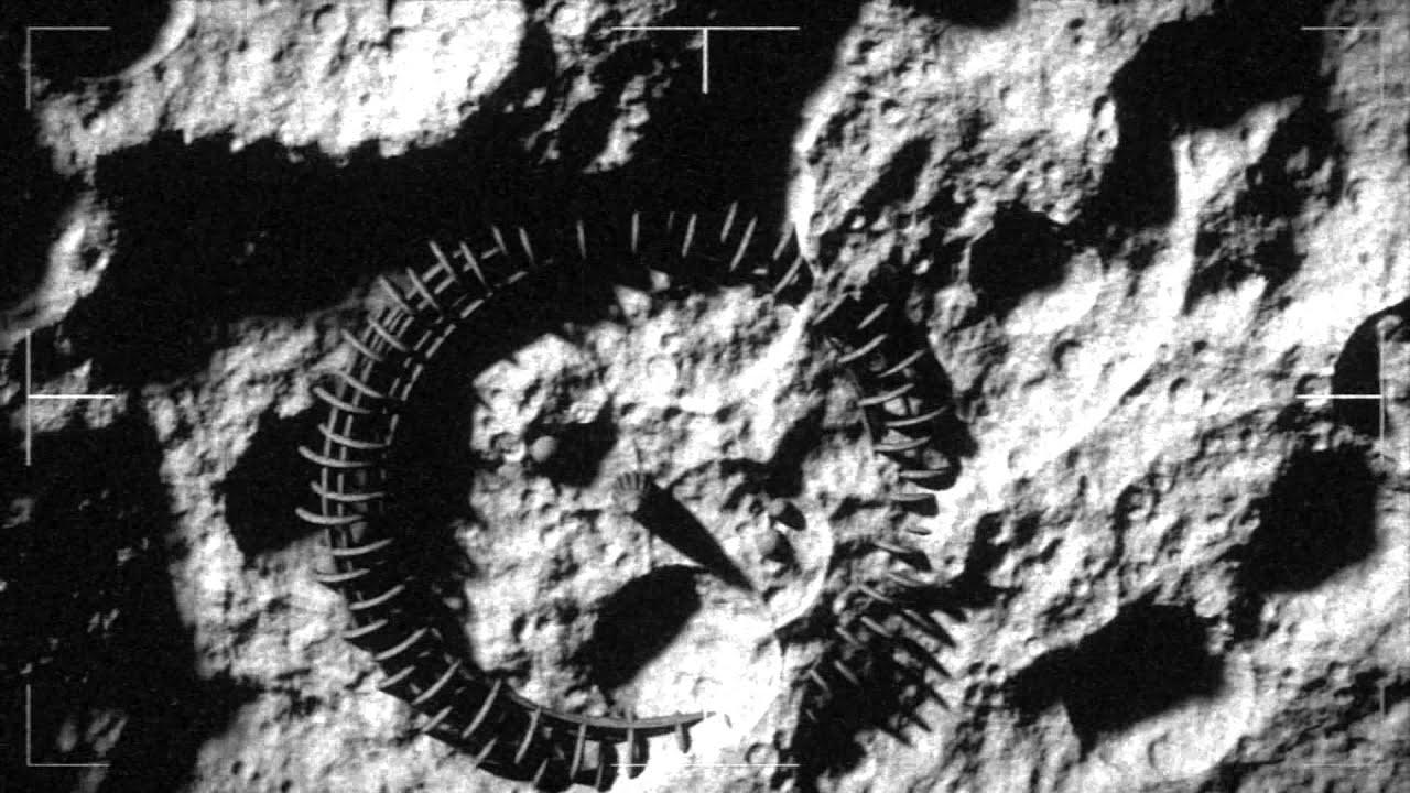 Secret Moon Footage of Alien Base - YouTube