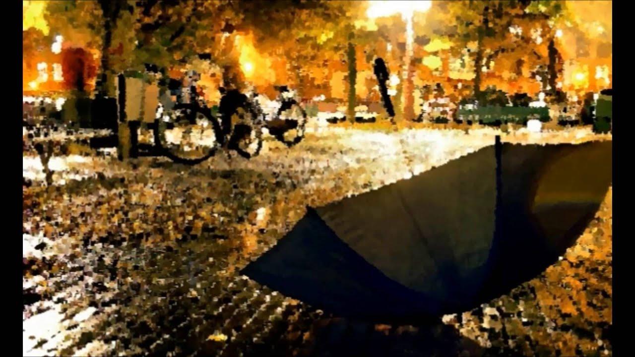В городе осень (Песня) - YouTube