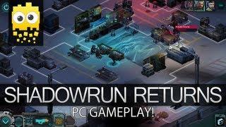 PC Gameplay! - ShadowRun Returns.