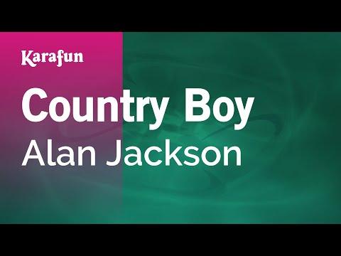 Karaoke Country Boy - Alan Jackson *