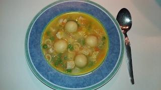 Куриный суп с сырными клецками рецепт с Термомикс ТМ5 ТМ31