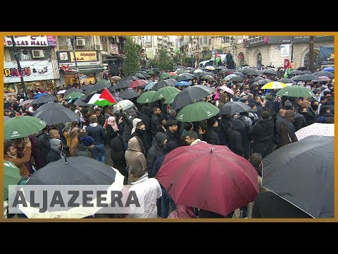 🇵🇸 Social security tax: Palestinians protest new law | Al Jazeera English