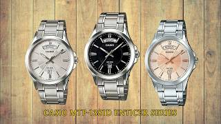 Casio MTP-1381D Series ENticer Series Stainless Steel Wrist Watch Video Review