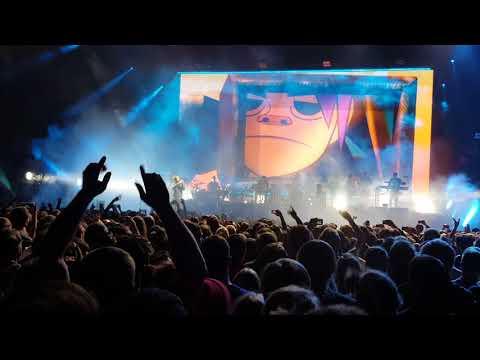 Gorillaz - 19-2000 live O2 Arena Prague, 14.11.2017