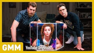 Can we fit human pretzel Sofie Dossi into a rolling suitcase? Find out! GMM #1288.2 Follow Sofie Dossi on Instagram at http://www.instagram.com/SofieDossi ...