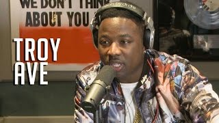 Troy Ave dodges Makonnen beef and spits bars!