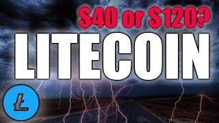 Litecoin Nearing Breakout - $40 or $120?