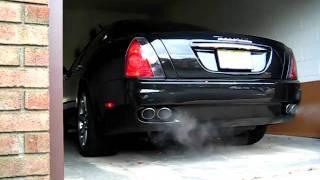 Maserati Quattroporte Exhaust