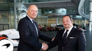 CNN International and McLaren announce partnership, January 2015