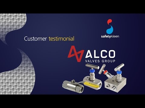 Safetykleen customer testimonial (Alco Valves)