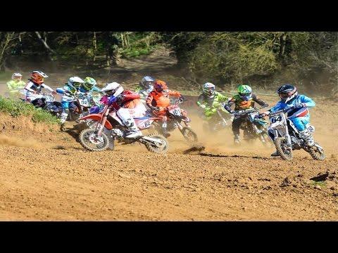 2017 UK Minibike Nationals-Dirt Bike-Pit Bike Racing Part 1