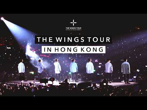 ☁️ 170513-14 BTS The Wings Tour in Hong Kong ☁️