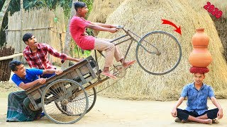 New Top Funny Comedy Video 2020__Very Funny Stupid Boys__Episode--97--Indian Fun || ME Tv