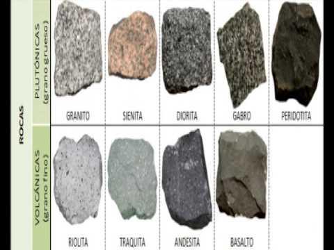 Trabajo tipos de rocas youtube - Tipos de mamposteria de piedra ...
