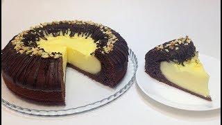 "ШОКОЛАДНЫЙ ПИРОГ ""ВУЛКАН"" (chocolate cake ""volcano"")"