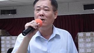 哼哈哈 賀賀老師驗收  望情雨  南投郵局第1期歌唱技巧班 104 5 21  照片 064